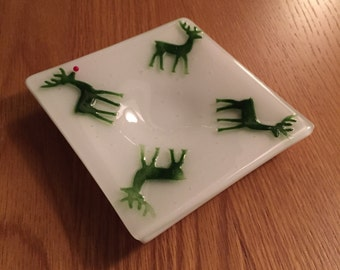 Reindeer Tea Light Candle Holder