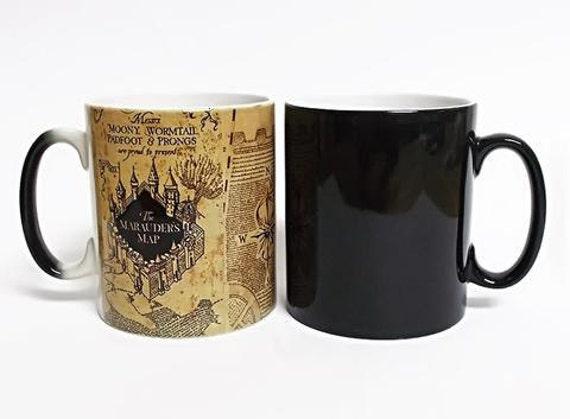 Harry Potter Marauders Map Mug Brand New Gift Fan Heat Changing