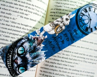 Wonderland bookmark