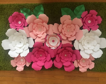 Backdrop/ paper flower/ wall decoration
