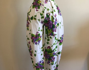 Vintage Betsey Johnson High Waisted Cotton Lycra Jodhpur Punk Label Pants