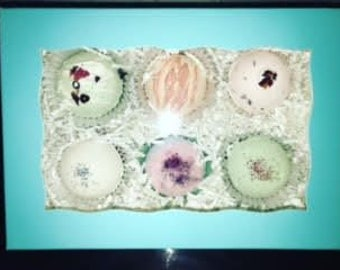 Customized 6 Pack of Bath Bombs