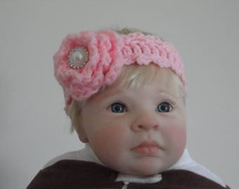 Baby Knitted Headband Crochet Headband Crochet Baby Head Accessories Knit Headband