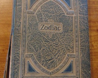The Zodiac Book  PollyPatterson  Rare  1926 OOP   Destiny's Celestial Cycle