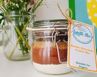 Double Chocolate Cookie Mix (jar)