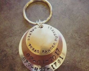 Tiered/domed ID tag