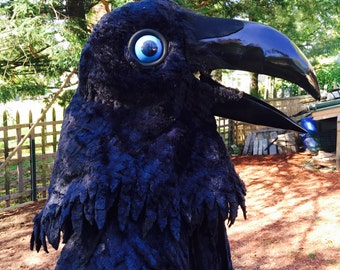 Raven Mask and Wings