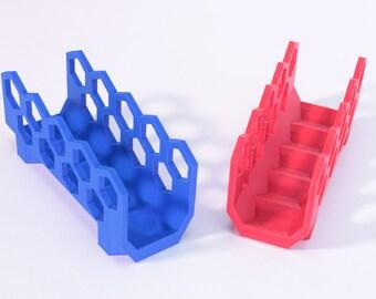 3D Printed Hexagonal Letter Holder