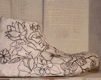 Botanic Decorative High-Top Plaster Sneaker
