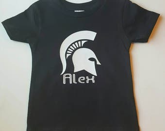Spartan T-shirt (personalized)