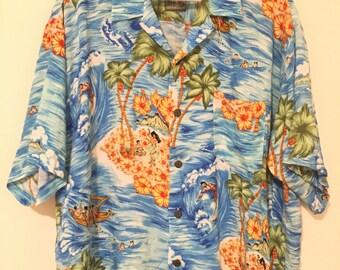 vintage hawaiian short sleeve shirt
