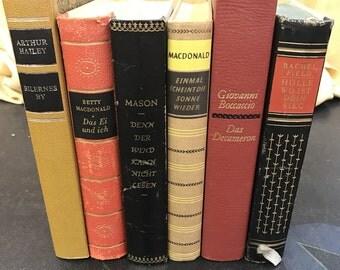 Vintage Novels in Foreign Languages!