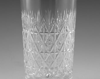 "Thomas WEBB Crystal - WELLINGTON Cut - Highball Glass / Glasses - 5 1/2"" (2nd)"