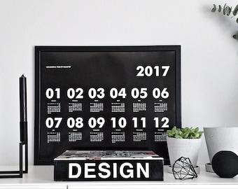 Calendar 2017 by kajastef