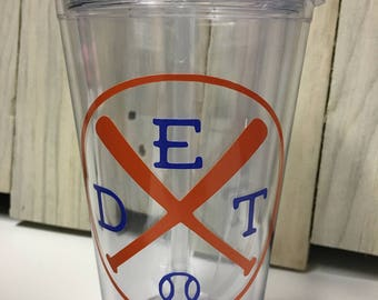 Detroit Tigers Insulated Tumbler 16 oz.