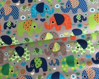 0,5M grey Jersey * elephant * by little Darling