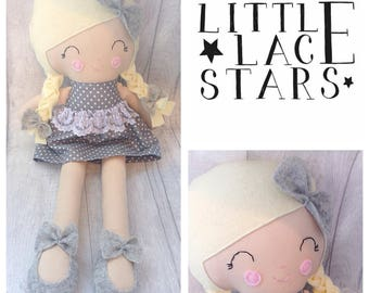 Handmade doll, soft doll, soft bodied doll, large doll, large plush doll, plush doll, modern doll, spot doll, ce marked doll