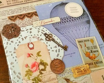 Victorian 115 pc. Scrapbook Ephemera Collage Kit by Momenta