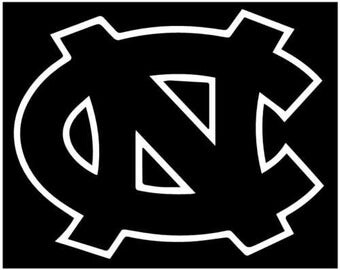 north carolina tarheels UNC decal sticker