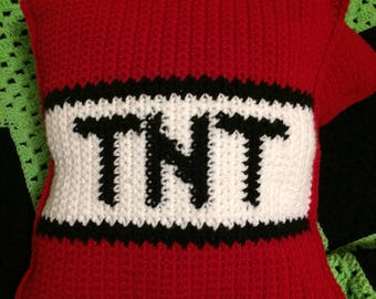 TNT Minecraft pillows!
