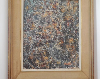 acryralic on board by listed  artist Rino Colletta