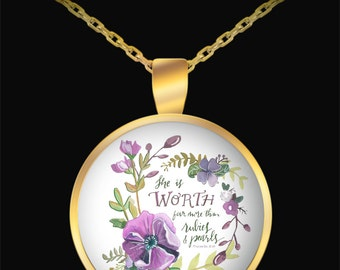Proverbs 31 necklace   Etsy - 16.2KB