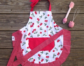 Girls Apron - The Cherry on Top