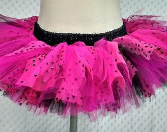 Unique tutu, girl's skirt, pink ladybug, summer dress, spring-summer 2017 collection