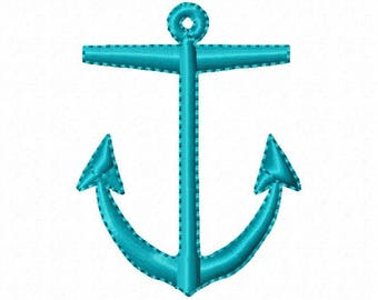Embroidery Design, Anchor Embroidery, Anchor,  Machine Embroidery, Anchor Design, Instant Download,