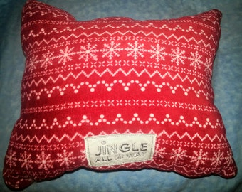 Jingle All The Way Christmas Pillow