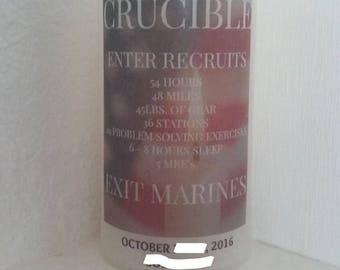 USMC Crucible Candle