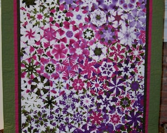 """One Block Wonder Lap or Wall Quilt - 67.5"""" x 49"""""""