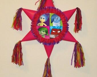 Inside Out piñata. Star Shaped Pinata