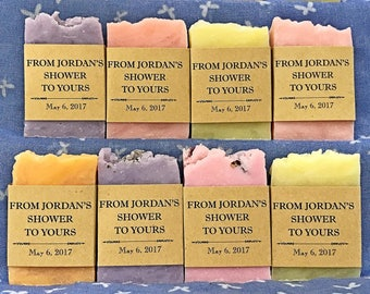 85 mini wedding favor soaps, From my shower to yours, soap favors. Wedding shower favors. Bridal shower gifts for guests. Baby shower favo