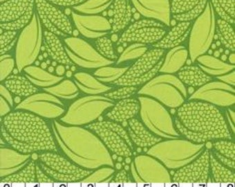 Green leaf fabric patchwork cushions quilting fabric upholstered clothing cotton fabric fabric green veggie Greens Vegetable vegan