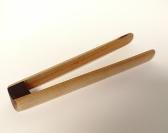 Wooden Kitchen Tongs