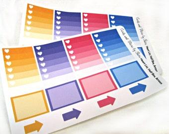 Planner Stickers - Checklist Stickers - To Do Stickers - Happy Planner Stickers - Day Designer - Functional Stickers