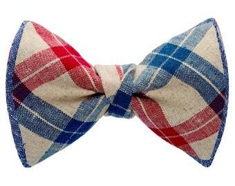 Clip-On Bow-tie / Denim