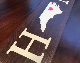 Home Sign / State Sign / Custom (LOCAL PICKUP 27703)