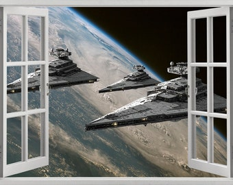 Star Wars wall sticker, decal, self-adhesive vinyl
