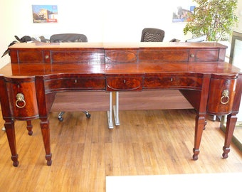 Stunning galleried mahogany Regency sideboard  (FREE UK SHIPPING, terms apply)