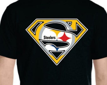 Hero Steelers T-shirt Available **LIMITED TIME ONLY** for Men Women Youth Toddler Infant Onesie Baby size to 5XL plus size