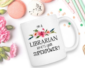 Librarian Gift, Book Lover Gift, Book Lover, Teacher Gift, Librarian, Librarian Gifts, Funny Mug, Literary Gift, Gift For Librarian, Library