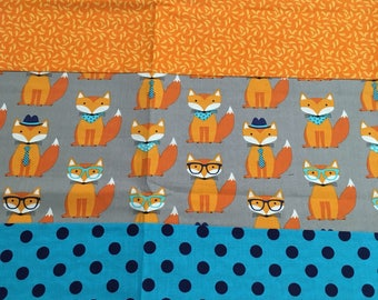 Modern Fox Baby/Toddler Quilt