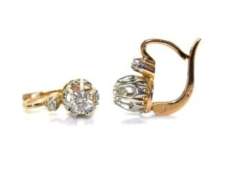 Earrings stud earring