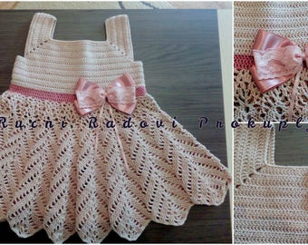 Girls' set - dress, headband and shoes