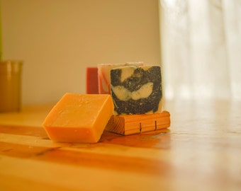 Odds & Ends Soap Sampler   FREE SHIPPING              Handmade Artisan Natural Soap Assortment Vegan Soap