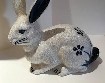 Retired Dedham Pottery Potting Shed Rabbit-1987