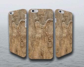 Winged Genie - iPhone Smartphone Case - Babylon/Sumerian/Egyptian/Mesopotamian/Anunnaki