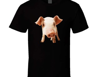 Cute Pig Piggie T Shirt